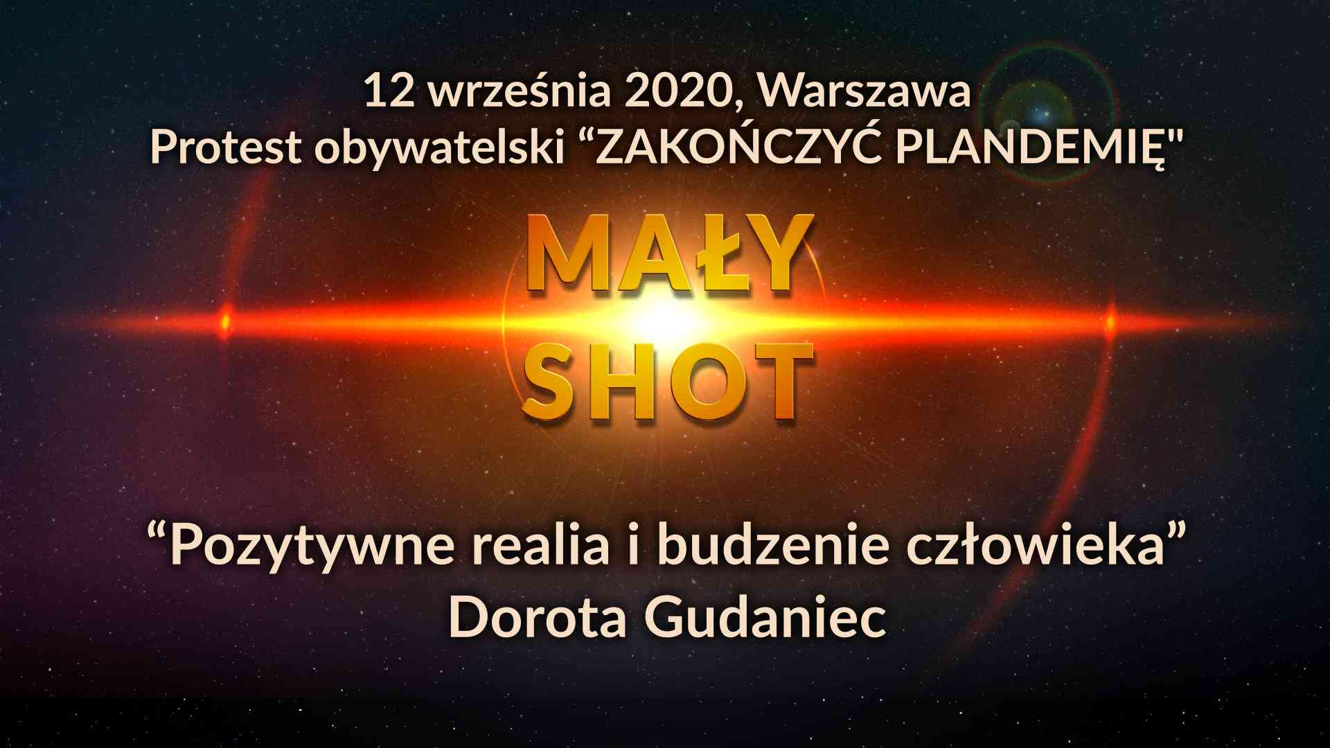 """Dorota Gudaniec - """"Pozytywne realia i budzenie człowieka"""""""